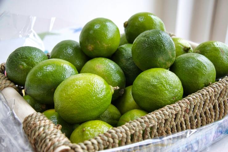 A basketful of Brazilian Limes