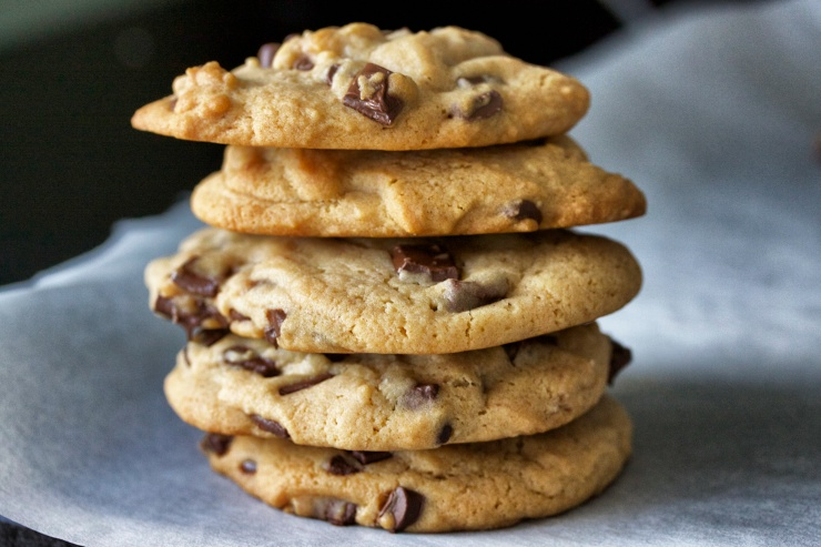 Chocolate Chip Cookie Stack