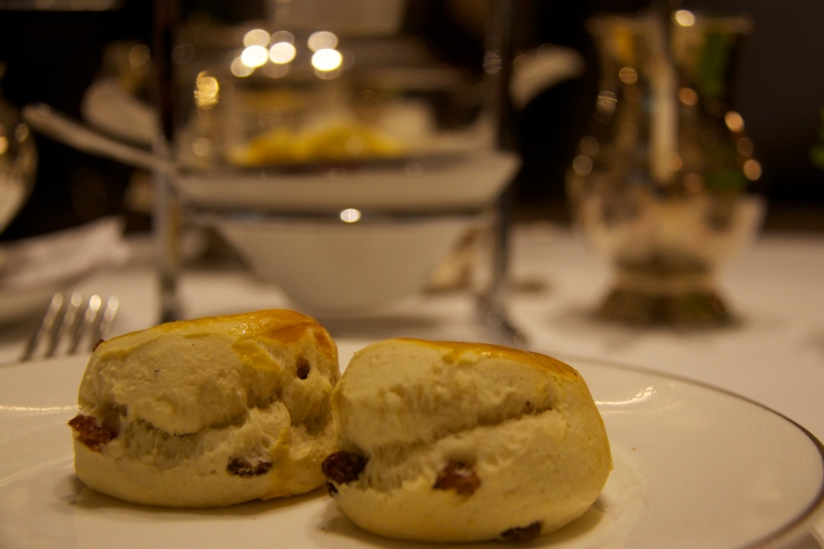 Scones at the Intercontinental Westminster