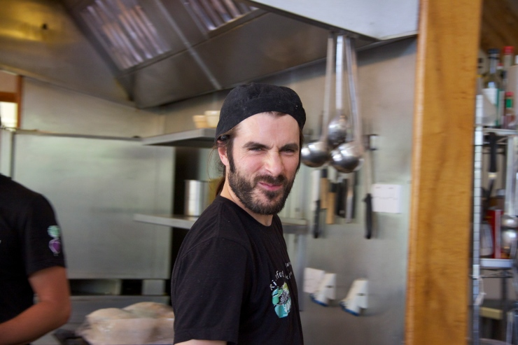 Rob Andrew, Head Chef, Riverford Organics Field Kitchen