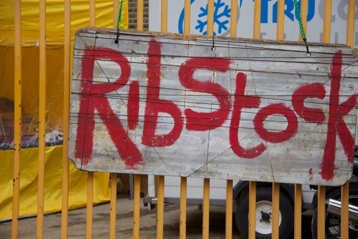 Ribstock sign