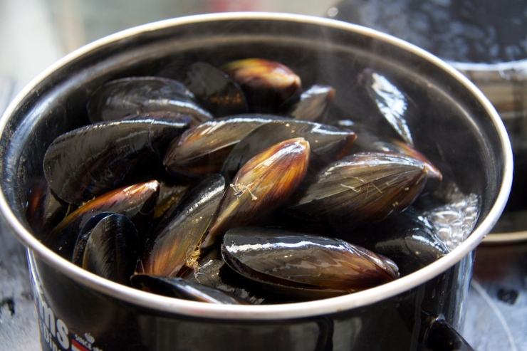 Moules, Intercontinental Abu Dhabi