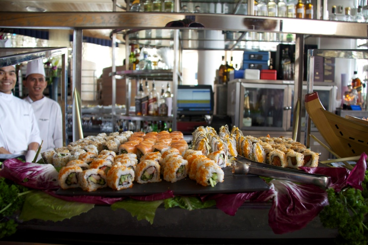 Marina Brunch Sushi