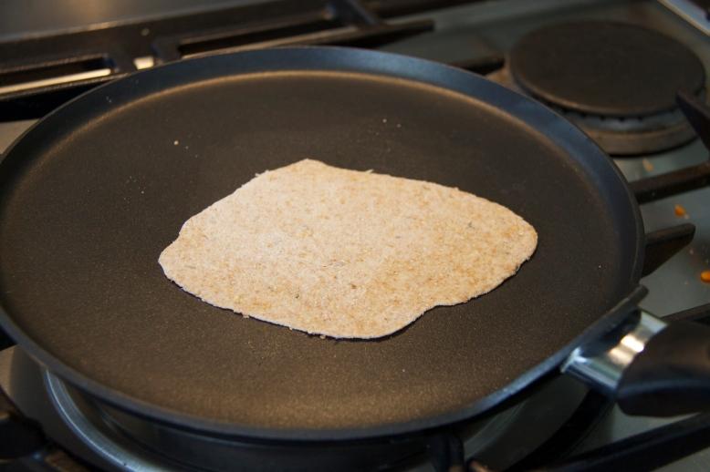 Wholemeal roti