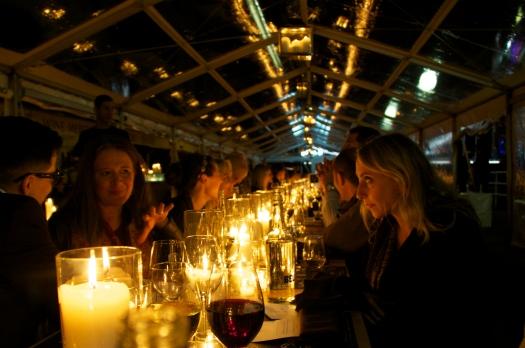 40 metre banquet table