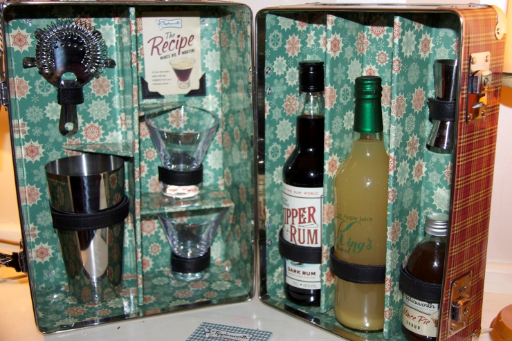The Mince Pie Martini Case