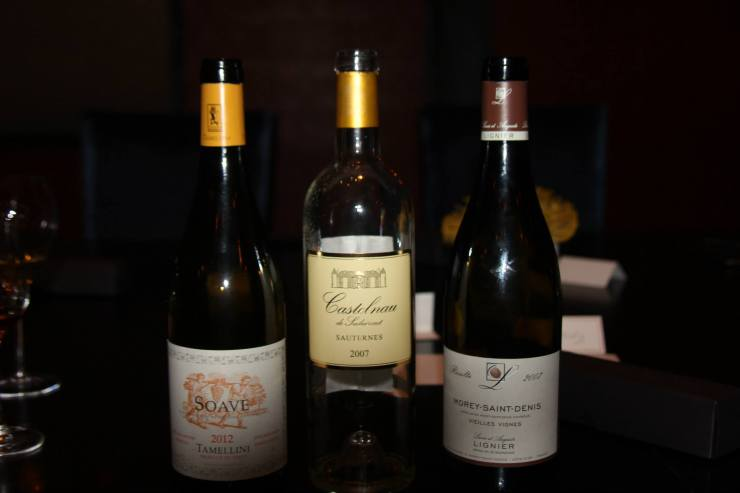 Wines from the Wine Club
