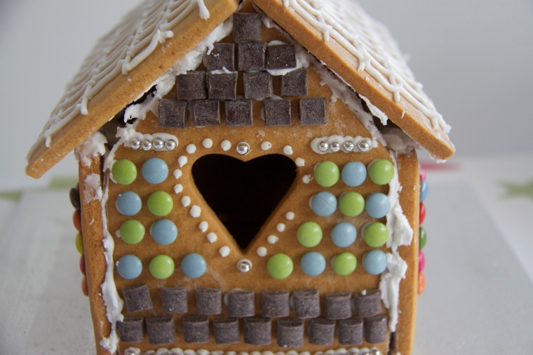 Side view Gingerbread House