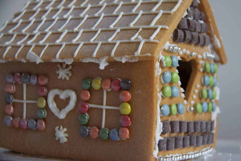 Side picture Gingerbread House