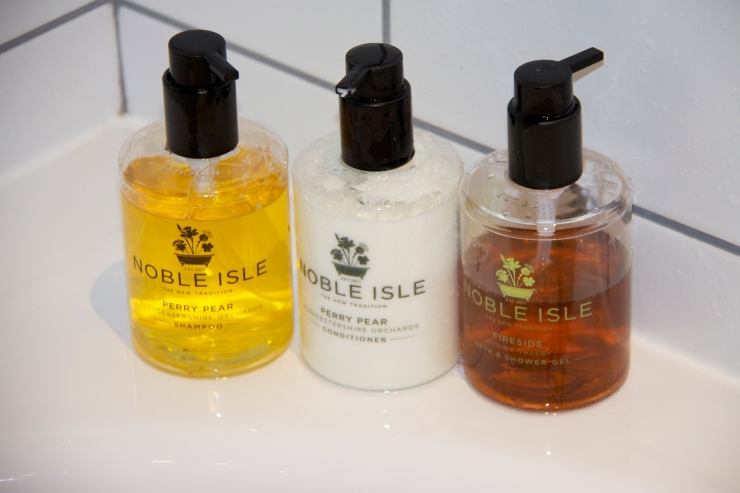 Noble Isle toiletries