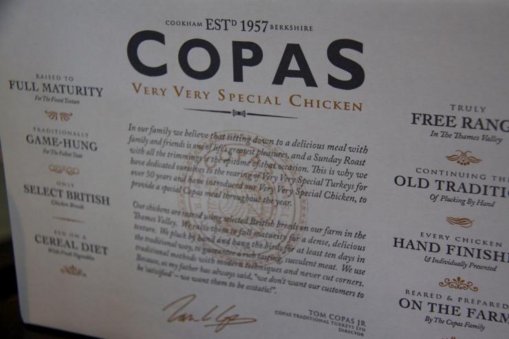 Copas box