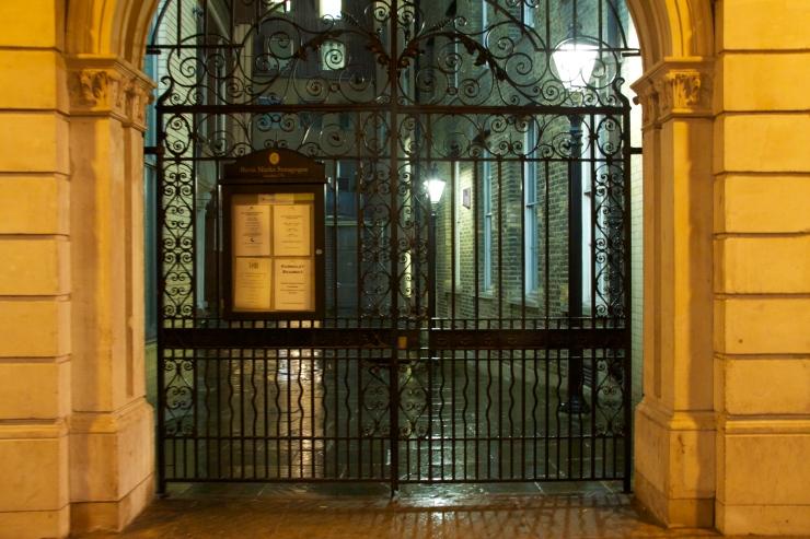 Bevis Marks entrance