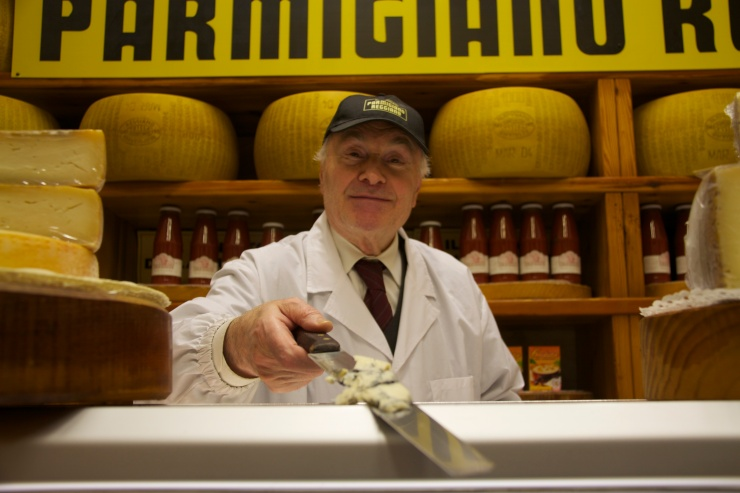 Cheese-seller, Novara