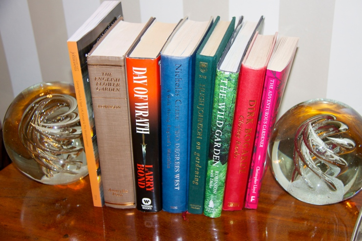 Book selection in 'Walnut'