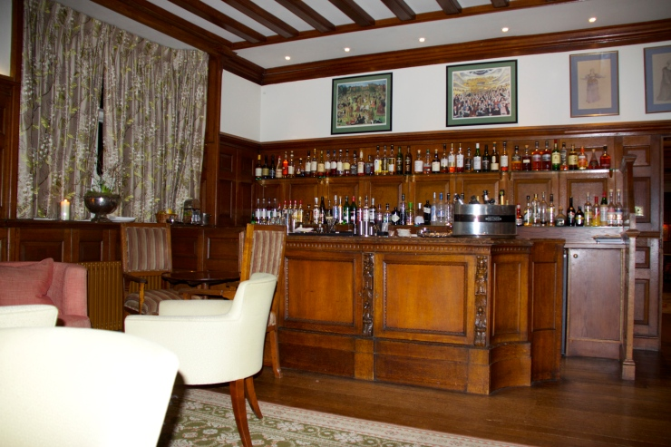 The Bar at Gravetye Manor