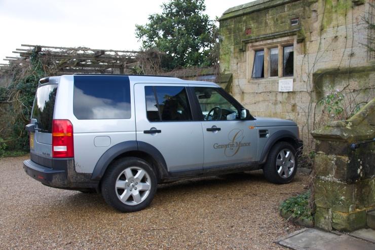 Gravetye Range Rover