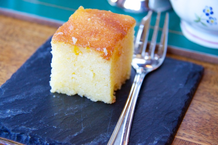 Lemon Drizzle Cake Gravetye Manor