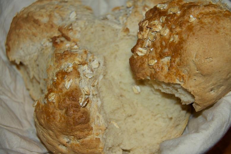 Opened loaf