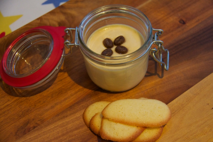 Baileys dessert and biscuits
