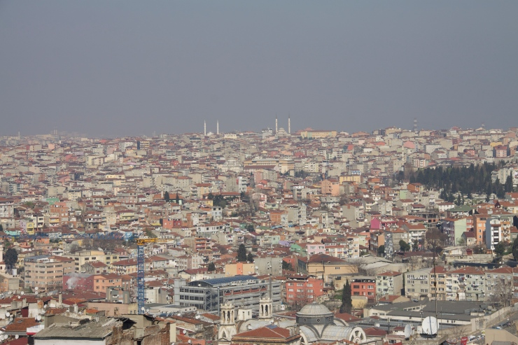 Istanbul from the Terrase