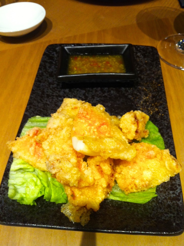 Crispy Squid, Ping Pong, Stratford