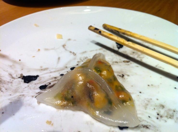 Shanghainese dumplings, Ping Pong, Westfield Stratford