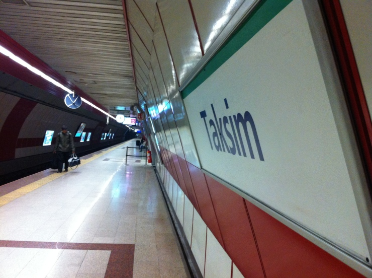 Taksim Square Underground Railway