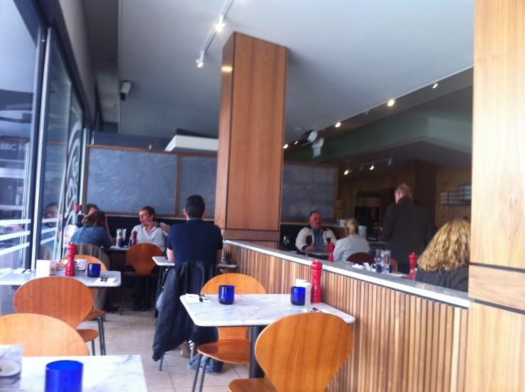 Interior, Pizza Express, Langham Place
