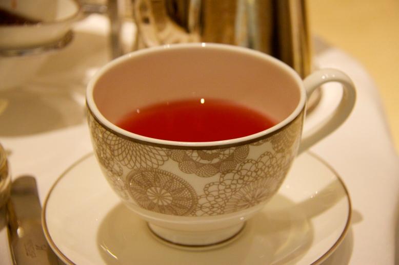 Blackcurrant herbal tea