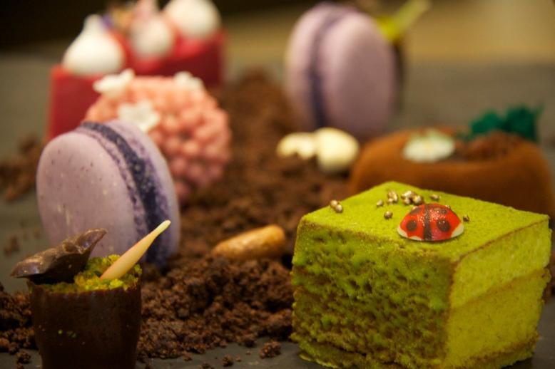 Cake assortment