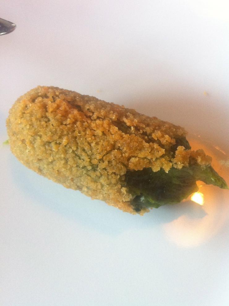 Spinach croquettas