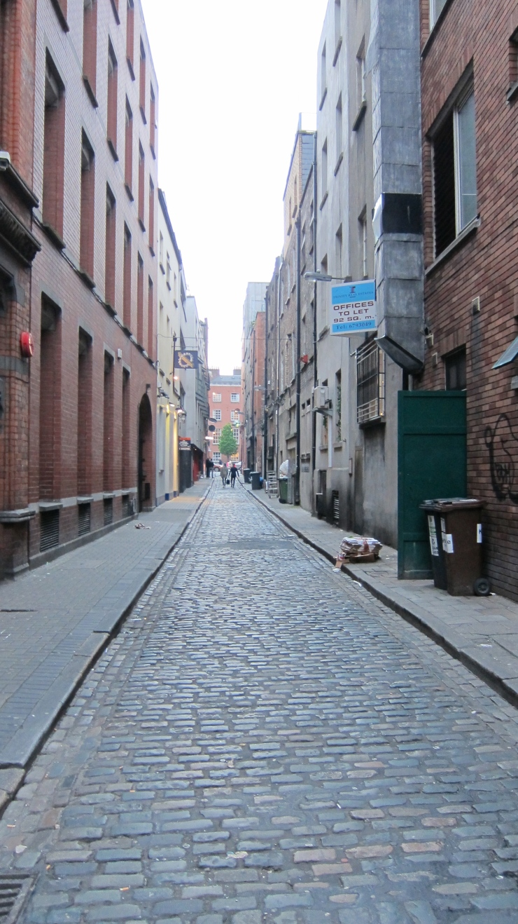 Empty Street in Temple Bar
