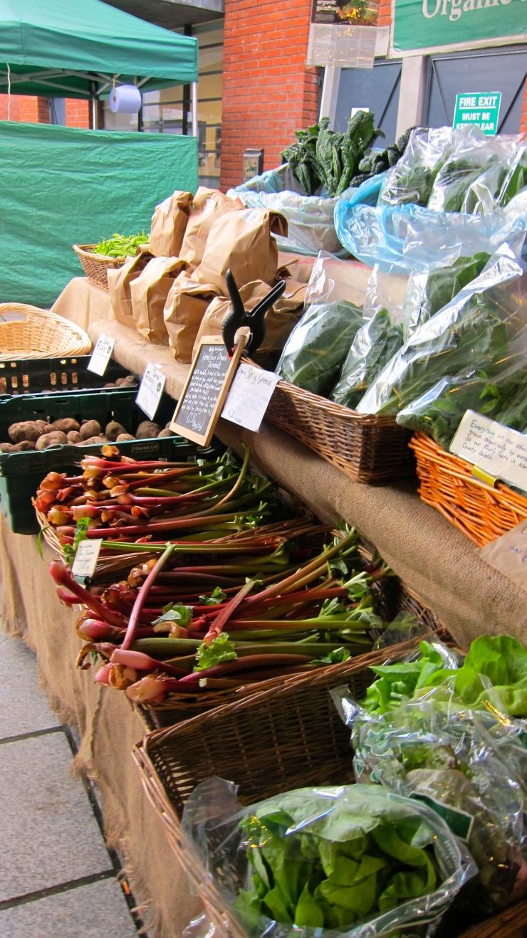 Organic Market stall