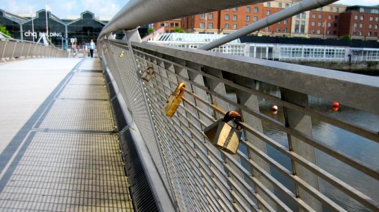 Dublin's Millennium Bridge