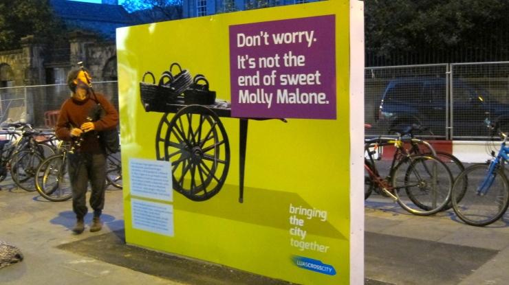 Molly Malone restoration poster