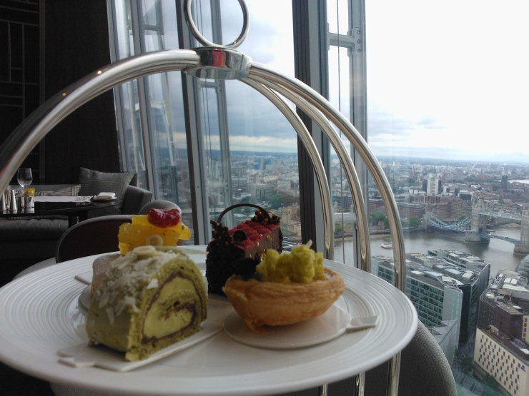 Asian Pastries Shangri-La at The Shard