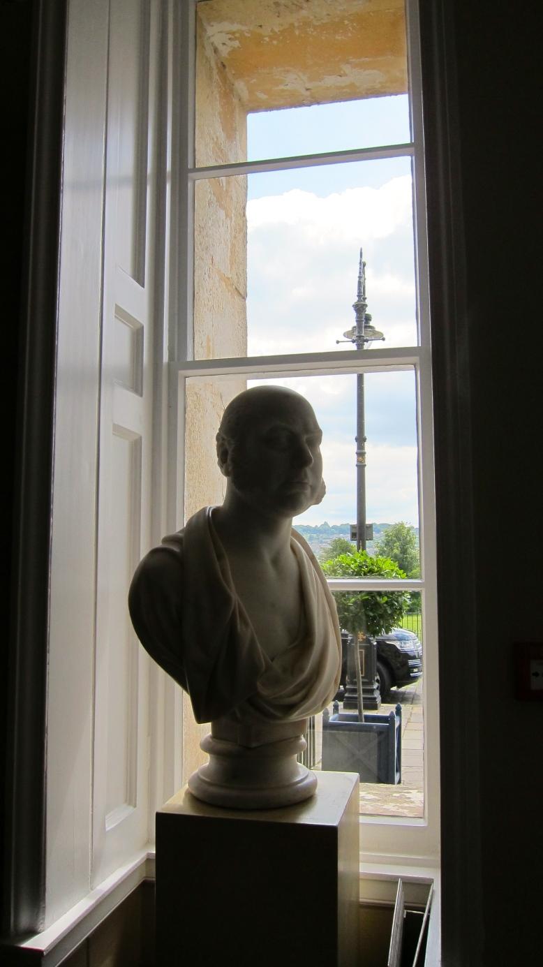 Bust in Window