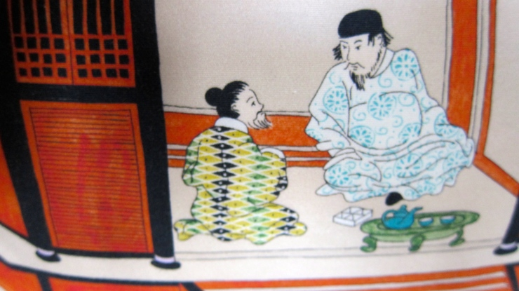 Japanese themed furnishings