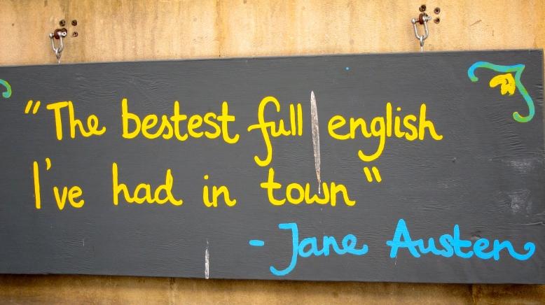 Jane Austen lived here