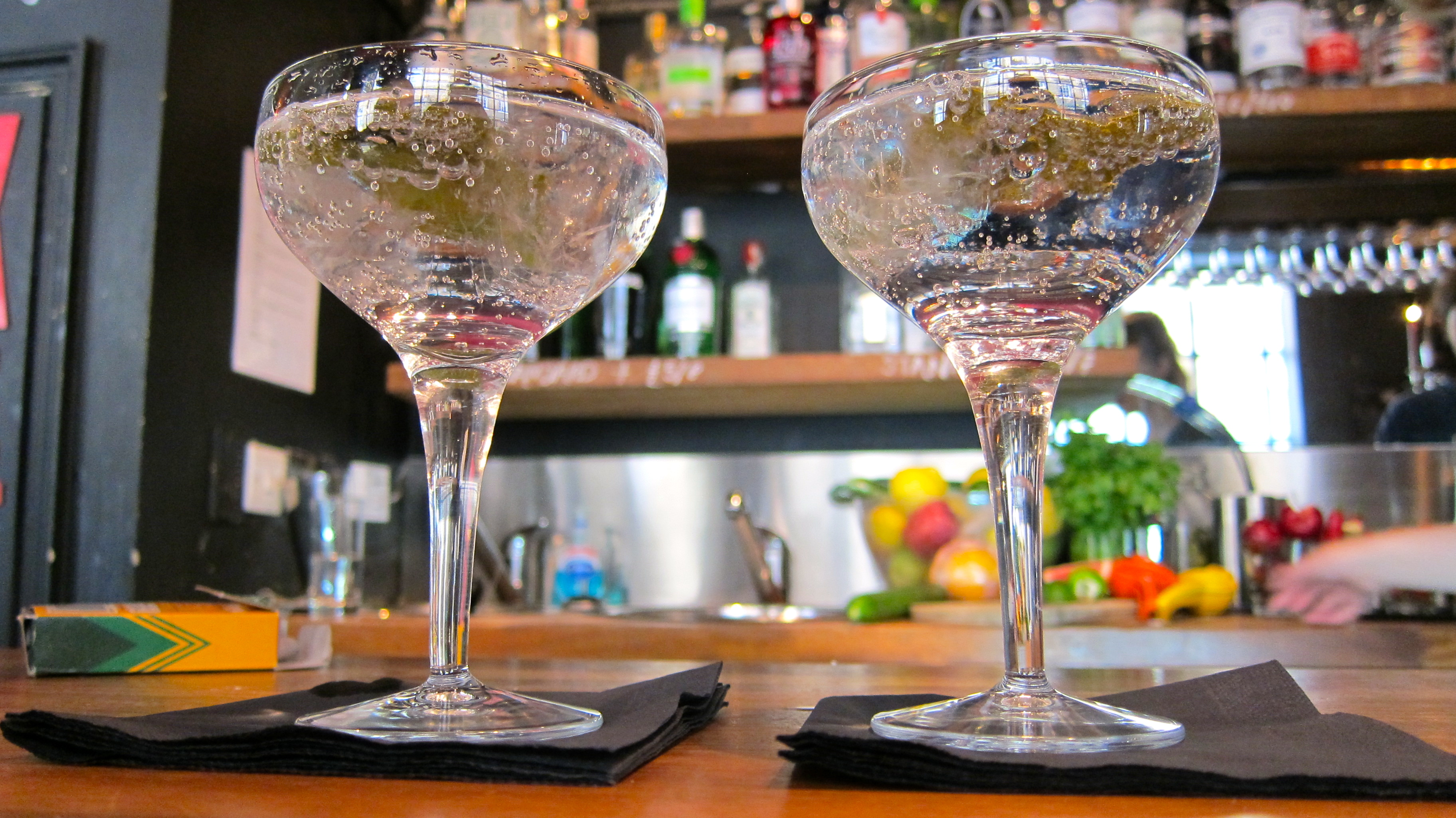 Bath Gin martinis