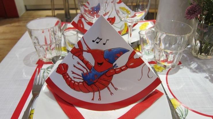Crayfish party hat