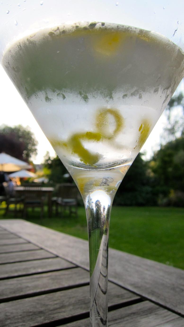 Bath Gin martini