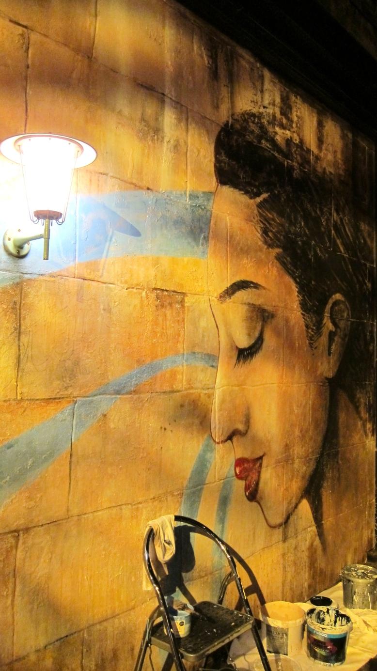 Cubania wall