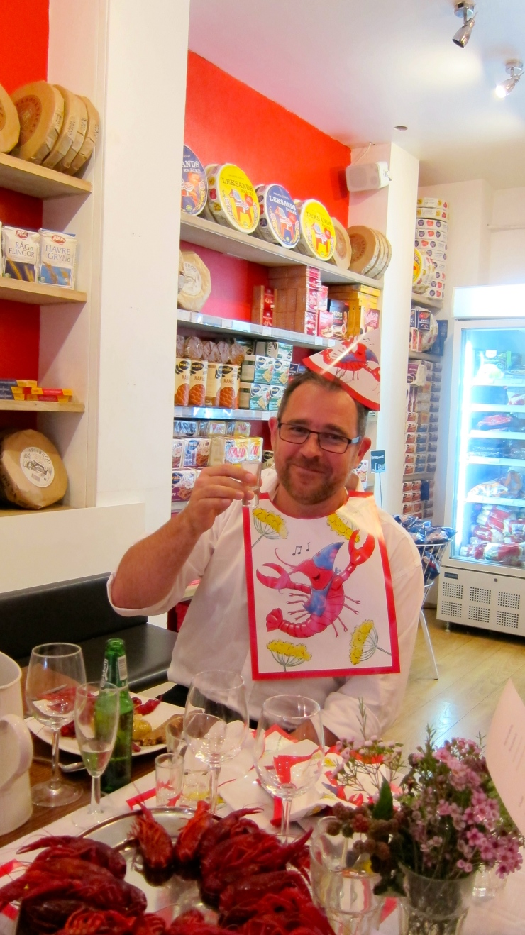 Crayfish Party-goer