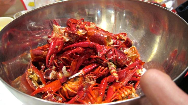 Crayfish shells