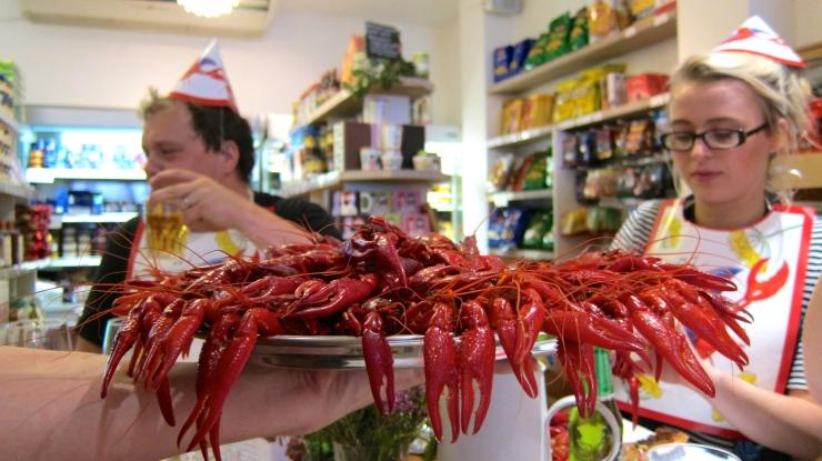 Crayfish & Tuborg