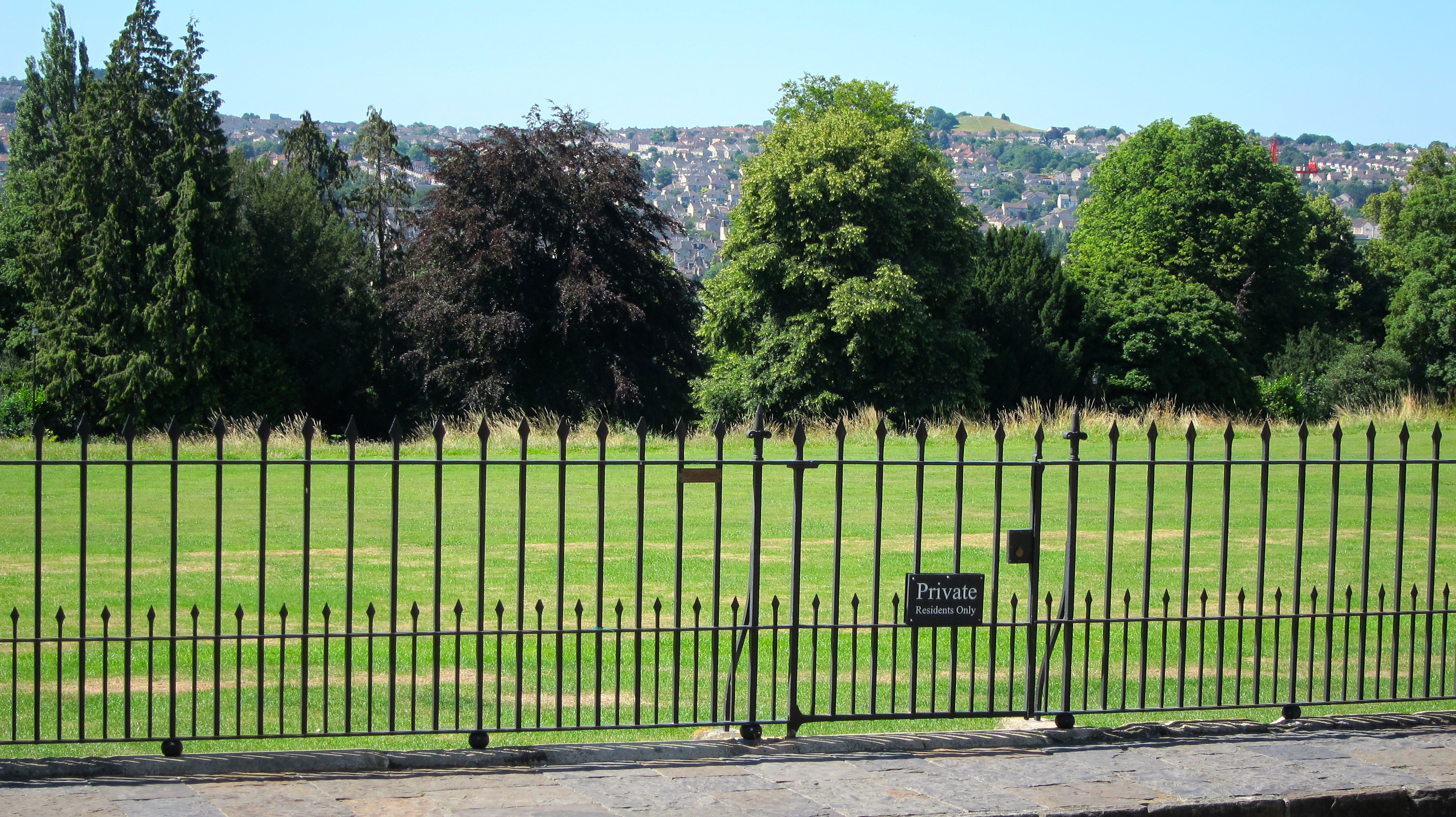 Royal Crescent Private Gardens