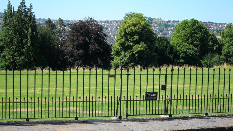 Royal Crescent Private Gardens