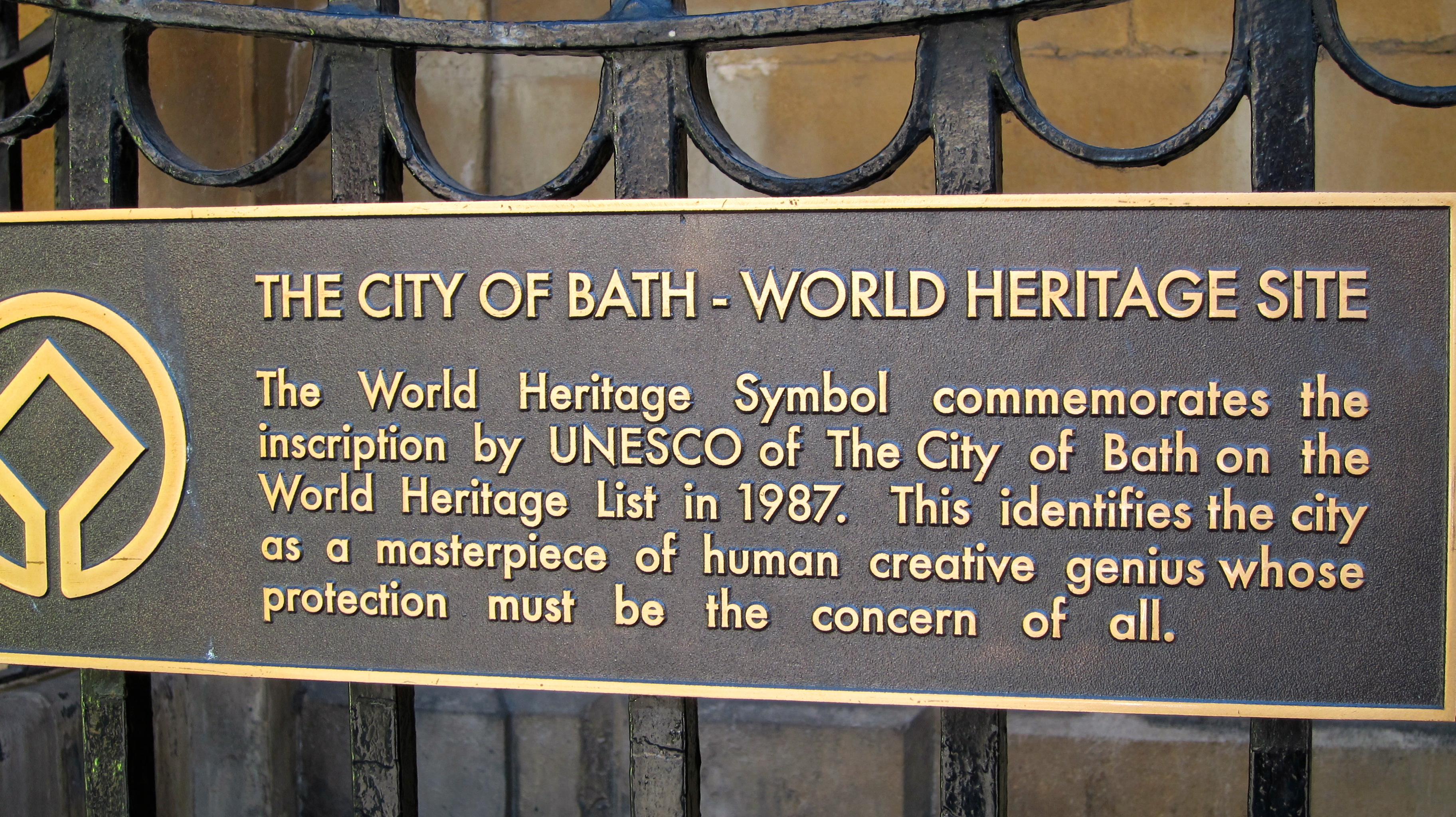 World Heritage sign