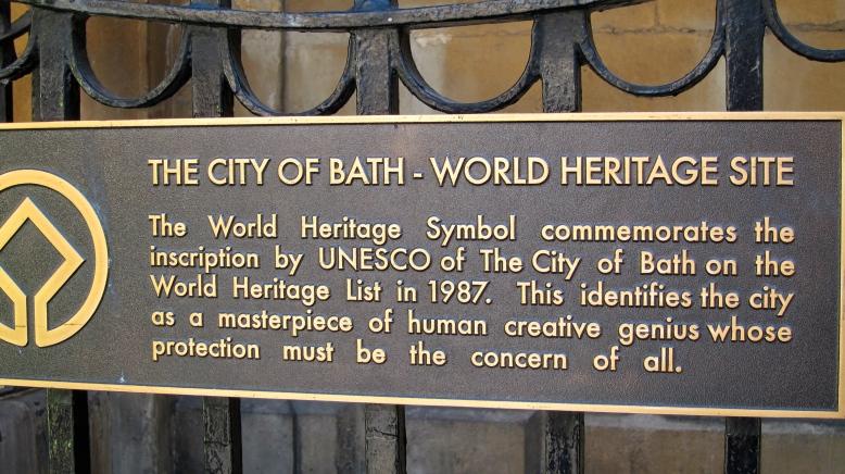 World Heritage sign